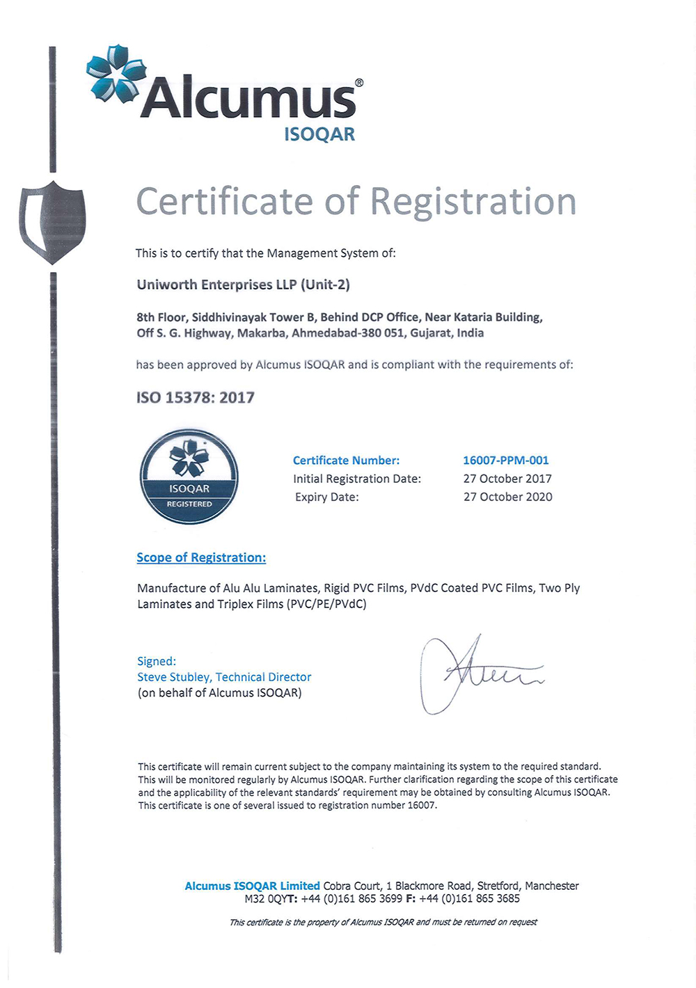 ISO-15378–2017